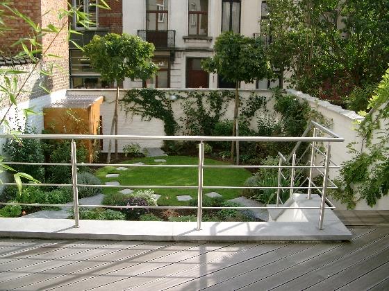 Anlægning af terrasse i haven